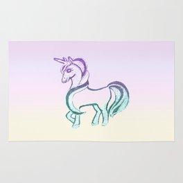 Unicorn #1 #drawing #decor #art #society6 Rug