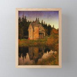 """""""The Old House"""" Framed Mini Art Print"""