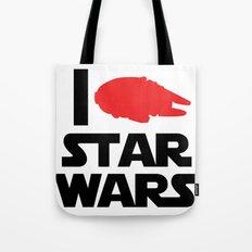 I Heart Star Wars Tote Bag