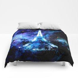 paRis galaxy dreams Comforters