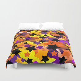Halloween Star Crazy Duvet Cover