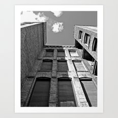 Historic Tacoma architecture Art Print