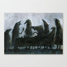 7Ravens - Table Canvas Print