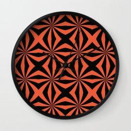 Pinwheel X Wall Clock