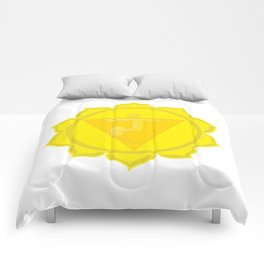 Manipura Chakra Solar Plexus chakra Yoga Comforters