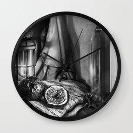 Passion Fruit & Shrew Wall Clock