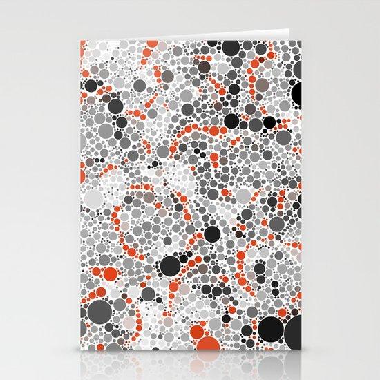 Volcano Dots Stationery Cards