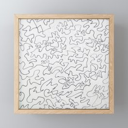 Solution Framed Mini Art Print