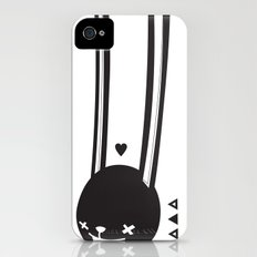 I CAN HEAR YOU ! - LONG EAR BUNNY  Slim Case iPhone (4, 4s)