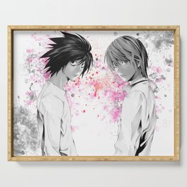 Death Note L Anime Manga Serving Tray