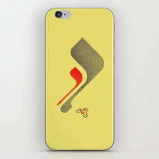 Excitebike iPhone & iPod Skin