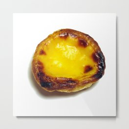 Portuguese custard tart Metal Print