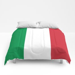 National Flag of Italy, High Quality Image Comforters