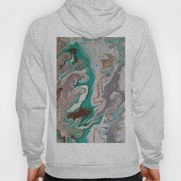 Aqua Fluid Acrylic Pour Painting Hoody