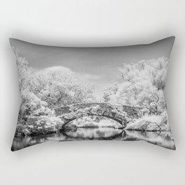 Gapstow Bridge, Central Park in Infrared Rectangular Pillow