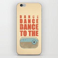 Dance To The Radio! iPhone & iPod Skin