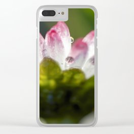 Spring daisy Clear iPhone Case