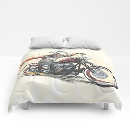 Devil's Ride Comforters