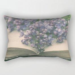 Book of LOVE - Lilacs Syringa Rectangular Pillow