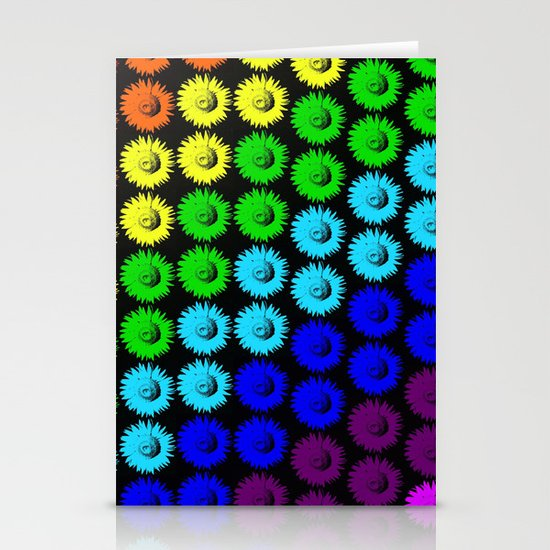 Chase the rainbow Stationery Cards