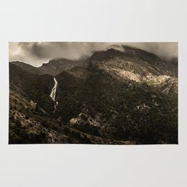 Dark Mountains Rug
