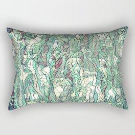 Abstract green Rectangular Pillow