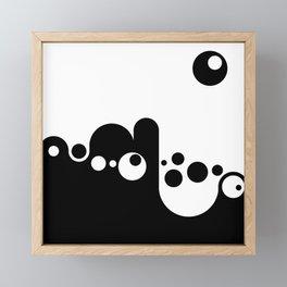 Morning Exercise Framed Mini Art Print