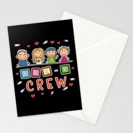 Pre-K Crew - Preschool Teacher Stationery Cards