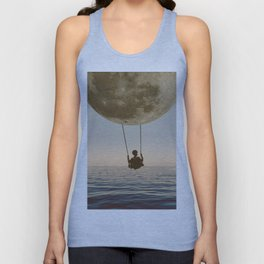 DREAM BIG/MOON CHILD SWING Unisex Tank Top