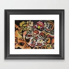 spanish cats Framed Art Print