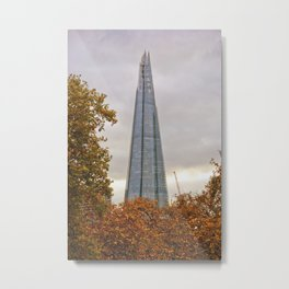 The Shard London Bridge Tower Metal Print