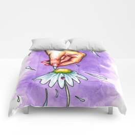 Hand study #2. Chamomile Comforters