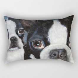Trouble Rectangular Pillow