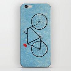 I ♥ BIKES iPhone & iPod Skin