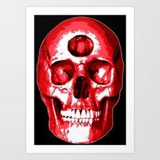 Third Eye Bones (Raw Edition) Art Print