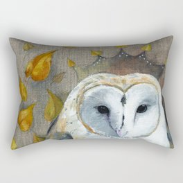 Crown of Wisdom Rectangular Pillow