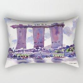20140318 Marina Bay Sands Rectangular Pillow