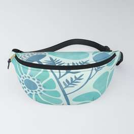 Himalayan Blue Poppies Fanny Pack