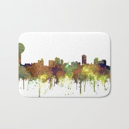 Knoxville Tennessee Skyline - Safari Buff Badematte