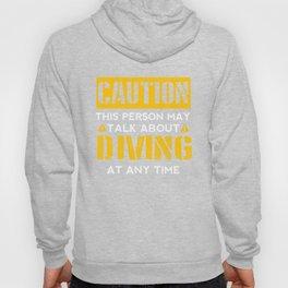 CAUTION - Diving Fan Hoody