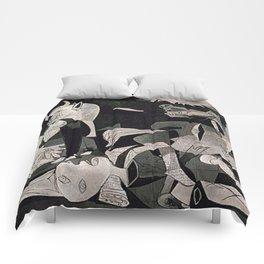 GUERNICA #1 - PABLO PICASSO Comforters