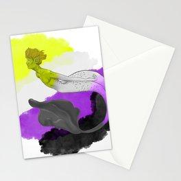 Nonbinary Pride Merman Stationery Cards