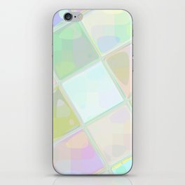 Re-Created Mirrored SQ I by Robert S. Lee iPhone Skin