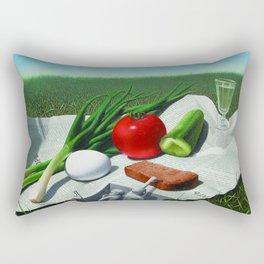 Perfect snack Rectangular Pillow