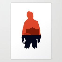 Marty! Art Print