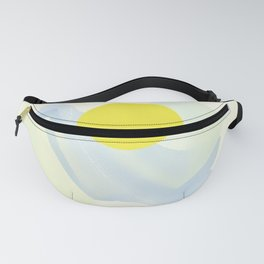 Abstract Summer Fanny Pack