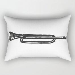 Trumpet Trompeta Trompette Trompete труба Rectangular Pillow