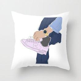 Sneakers Raf Simons Throw Pillow