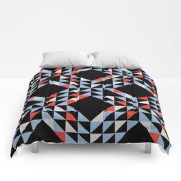 Night Sailing Waves Pattern Comforters
