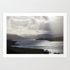 Loch Hope Art Print